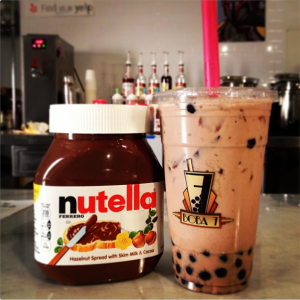 Nutella Milk Tea