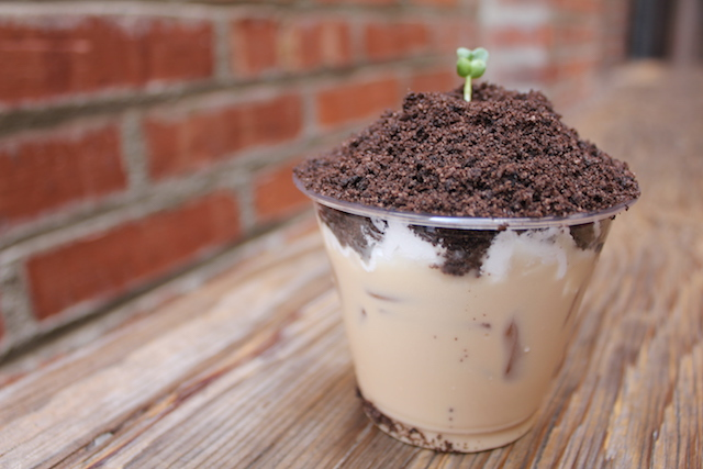 Monterey Park dessert shop and café, Macchiato's, will be making their signature potted milk tea drinks. (Photo by Kristie Hang/LAist)